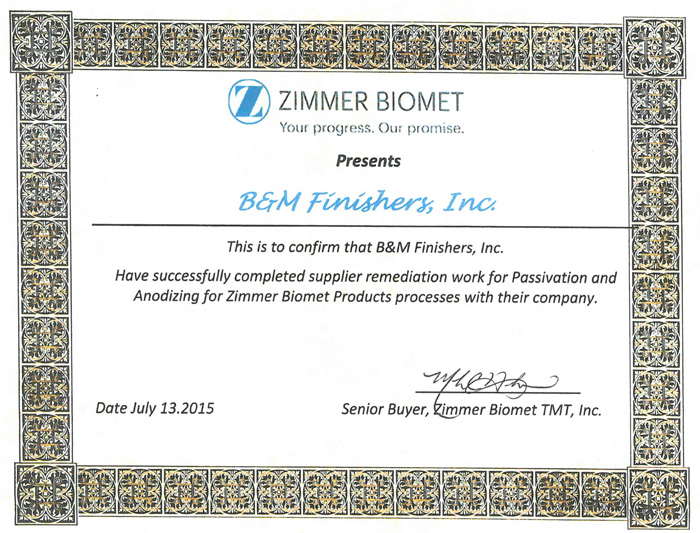 zimmer-biomet-certification